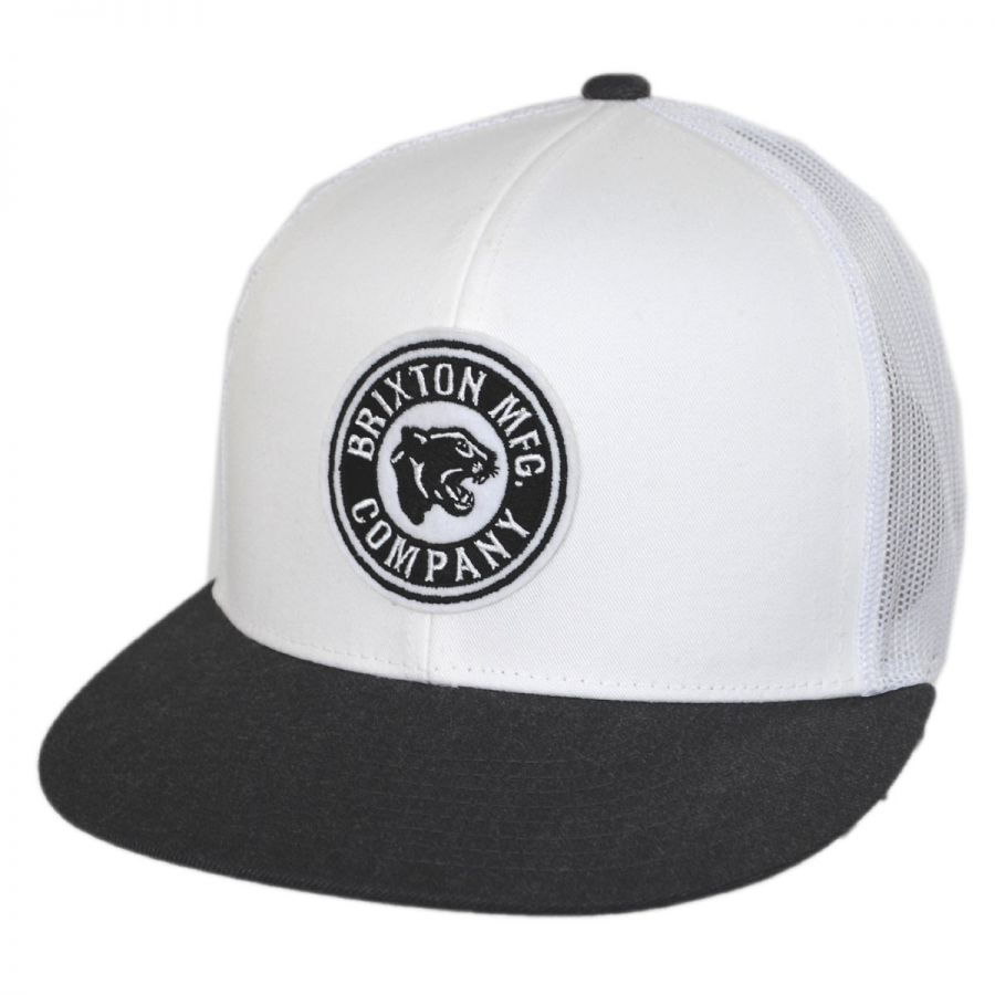 Brixton Hats Forte MidPro Mesh Trucker Snapback Baseball Cap All ... d09d1d78f7c