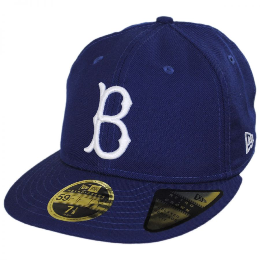 best service 1eef2 04691 Brooklyn Dodgers MLB Retro Fit 59Fifty Fitted Baseball Cap alternate view 1
