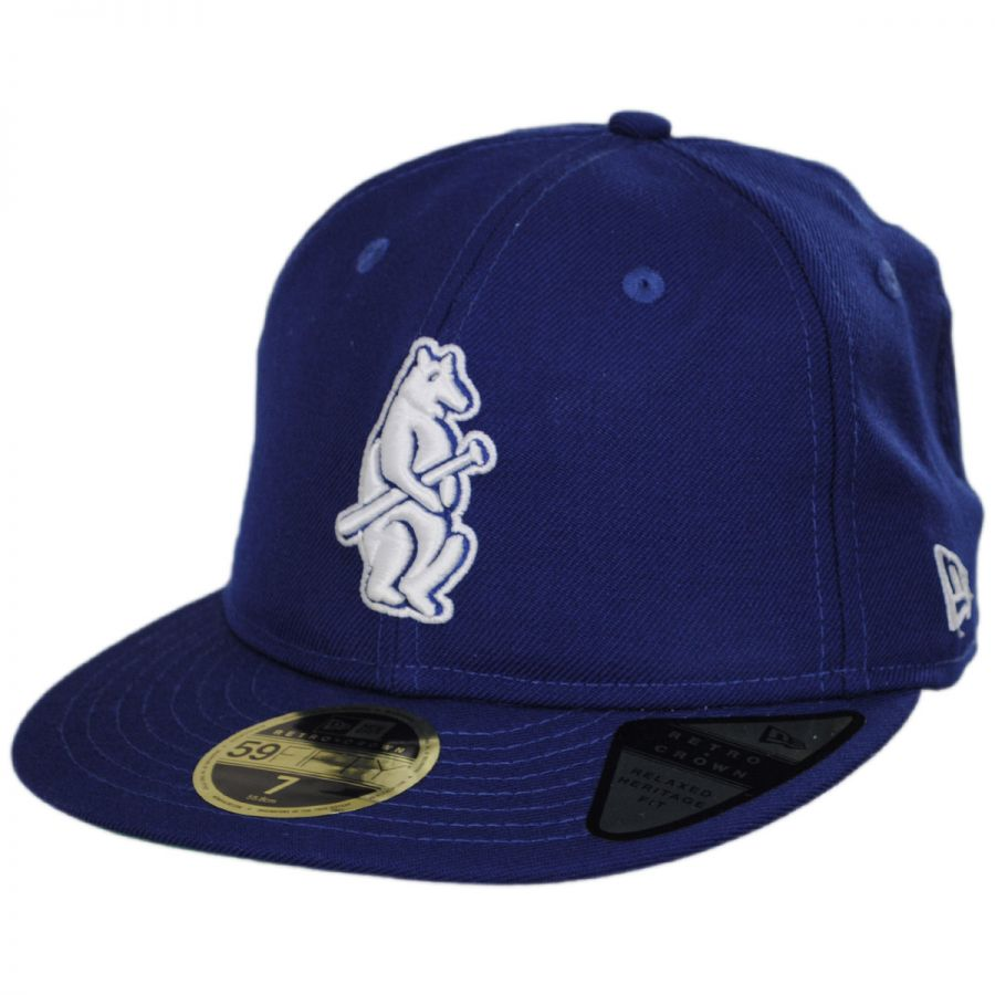 829927bceb8 Chicago Cubs MLB Retro Fit 59Fifty Fitted Baseball Cap alternate view 1