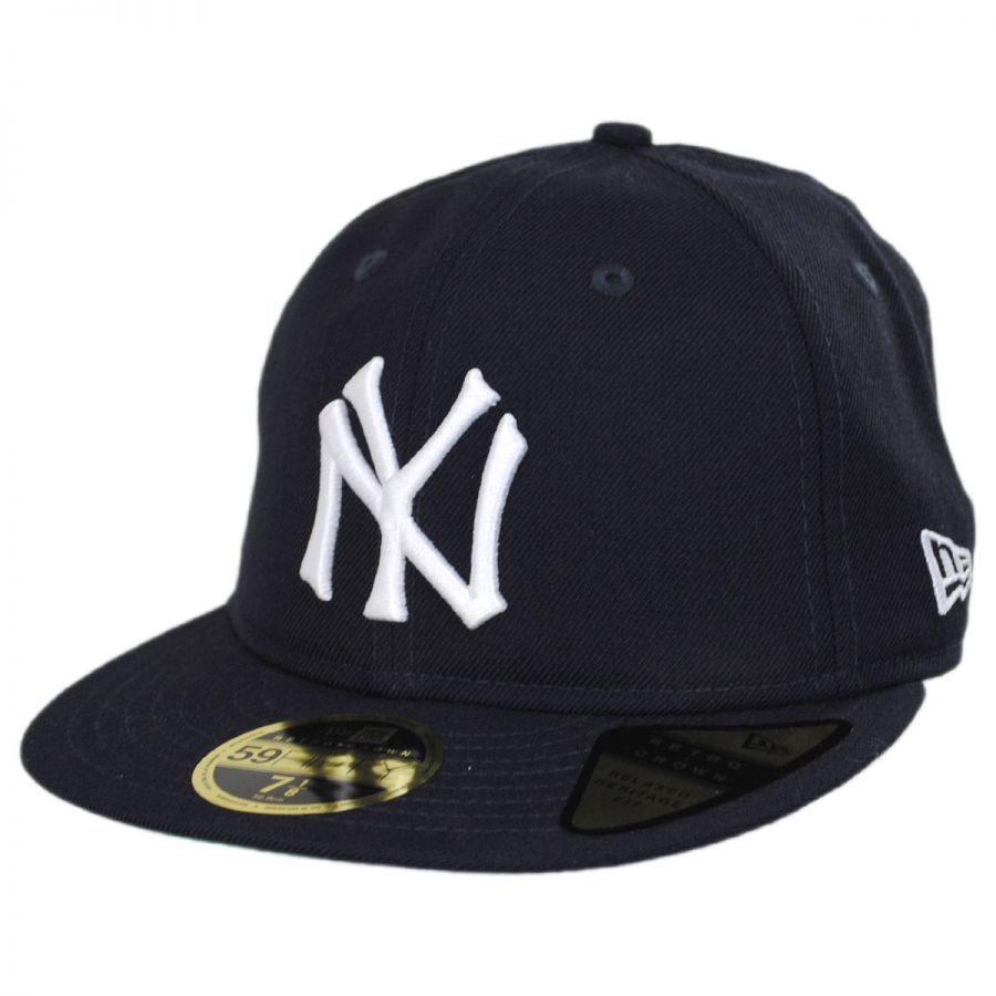 e47d619655f New York Yankees MLB Retro Fit 59Fifty Fitted Baseball Cap alternate view 1