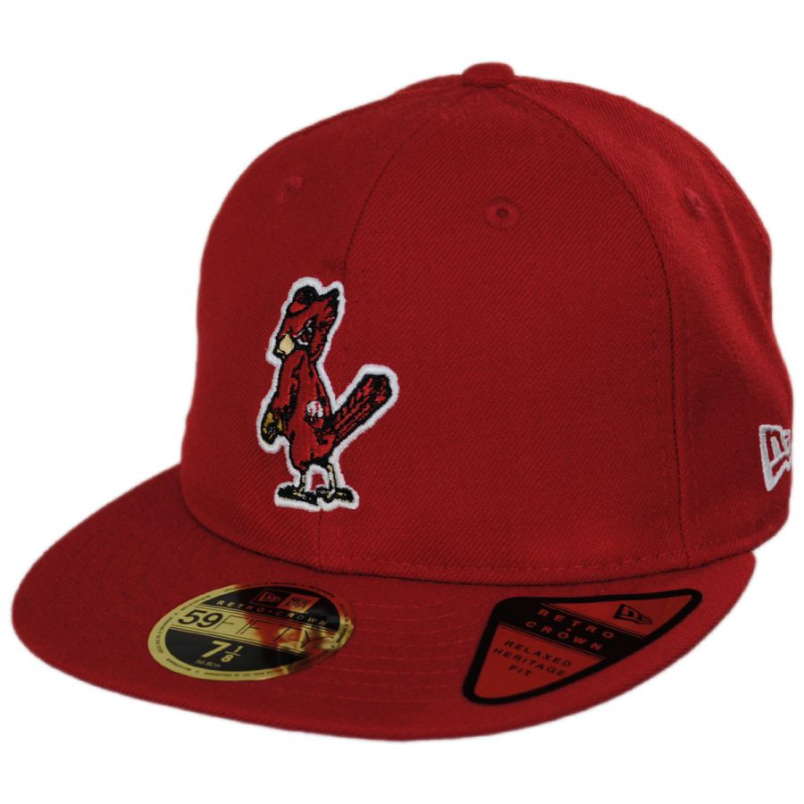 hot sale online ae86f cbe9b Saint Louis Cardinals MLB Retro Fit 59Fifty Fitted Baseball Cap alternate  view 5