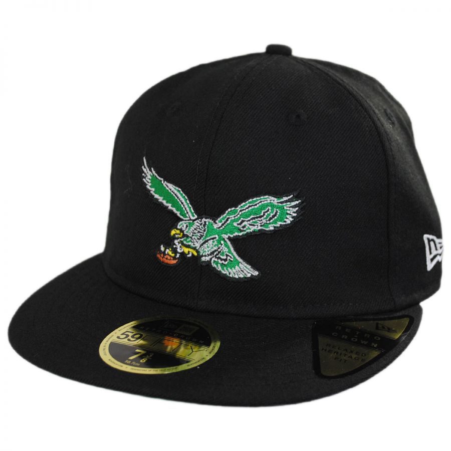 bf7d0892b32 Philadelphia Eagles NFL Retro Fit 59Fifty Fitted Baseball Cap alternate  view 9