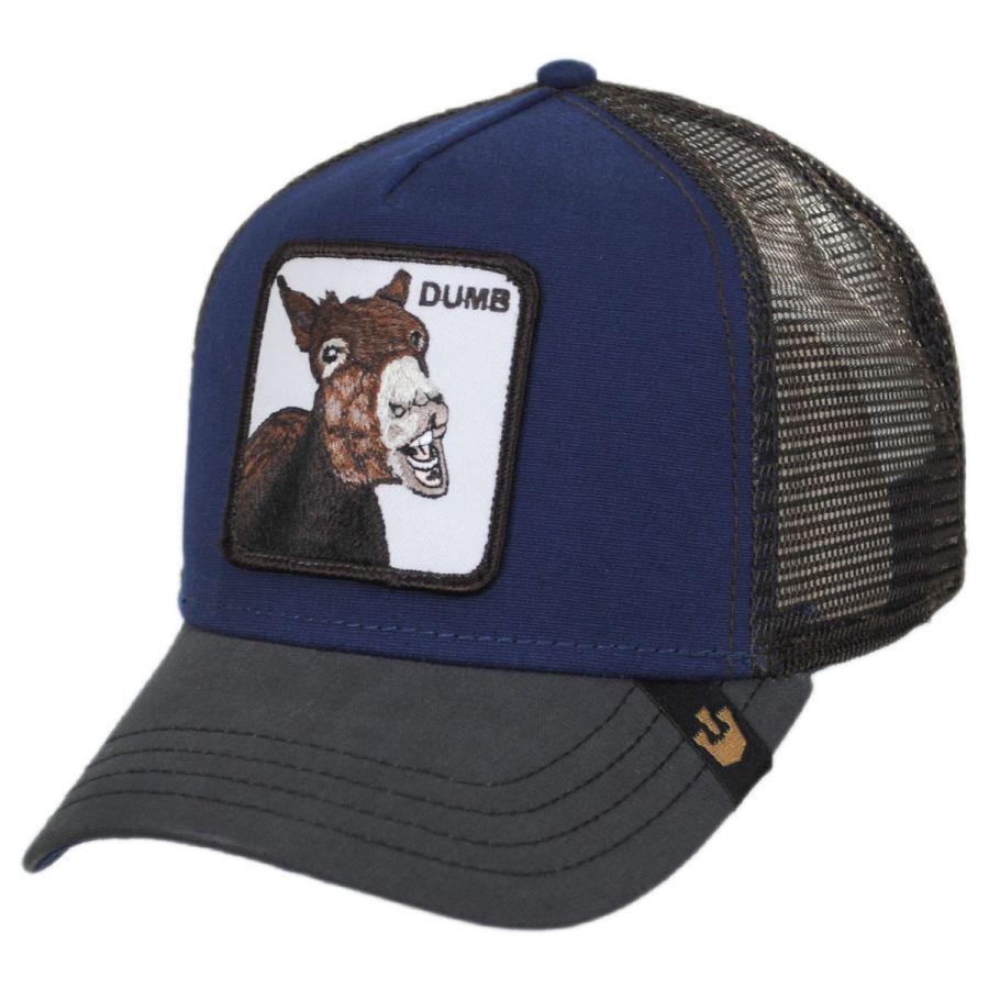 ac42f6d678d2bb Goorin Bros Dumbass Mesh Trucker Snapback Baseball Cap Snapback Hats