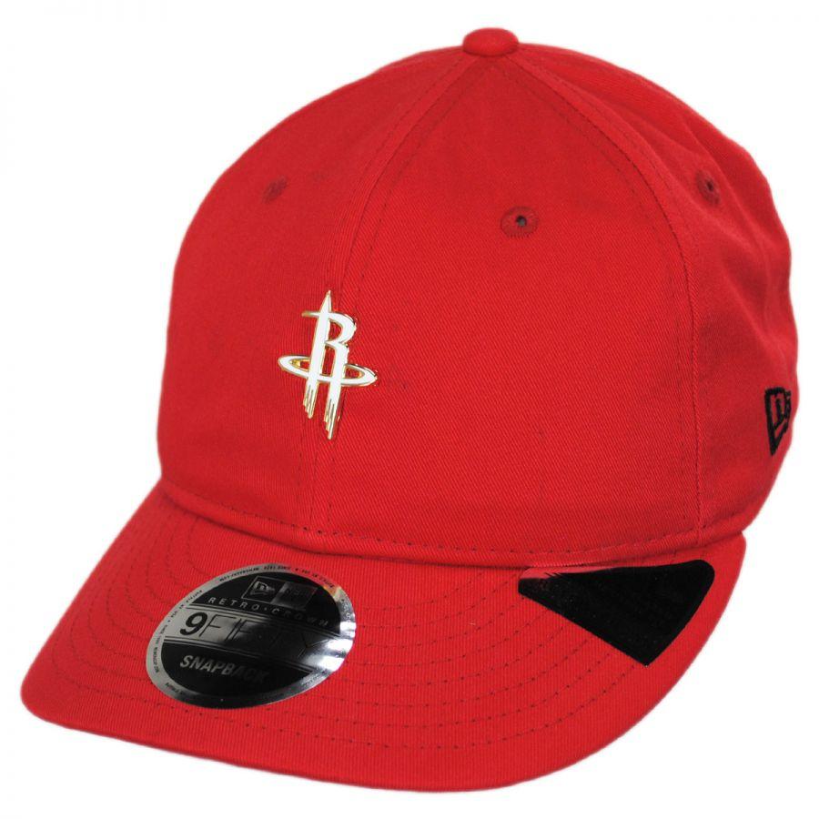 huge discount cdf2d 9f832 Houston Rockets NBA Badged Fan 9Fifty Snapback Baseball Cap alternate view 1