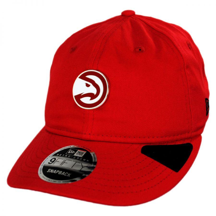 finest selection 81ca3 95772 Atlanta Hawks NBA Badged Fan 9Fifty Snapback Baseball Cap alternate view 1
