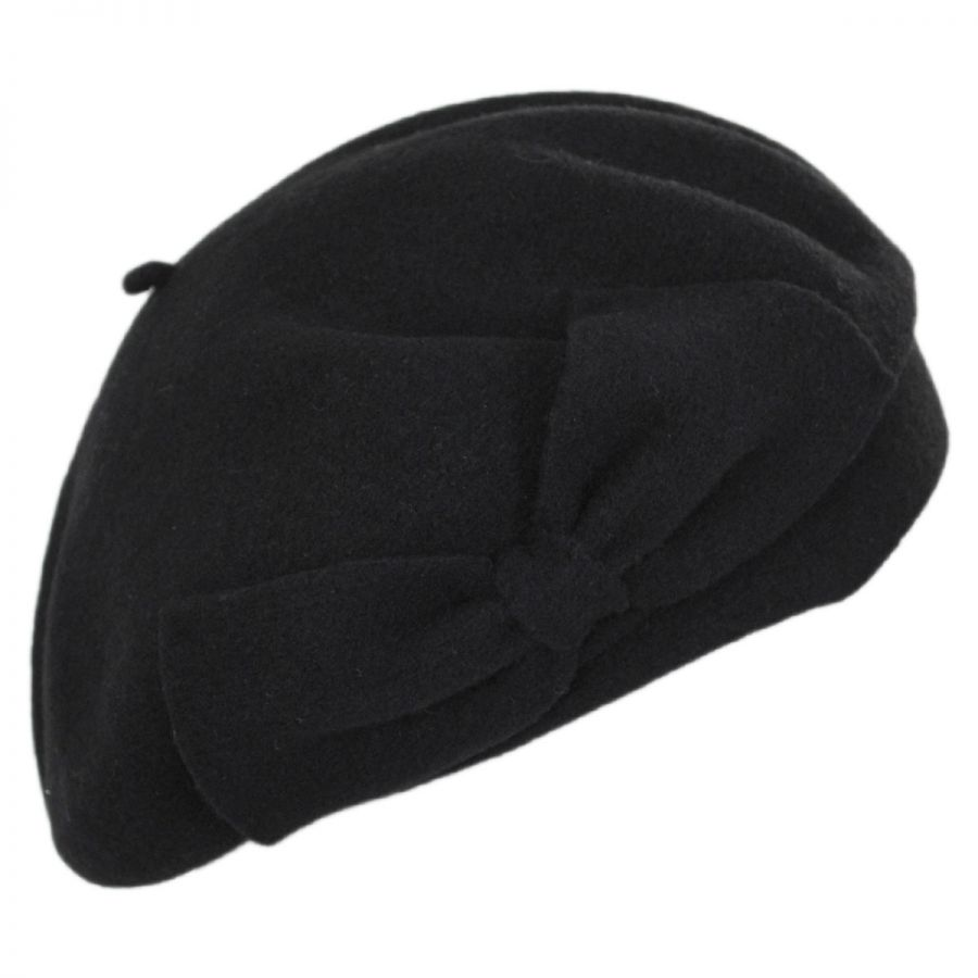 ca1467d5b23 Coco Bow Wool Beret alternate view 1