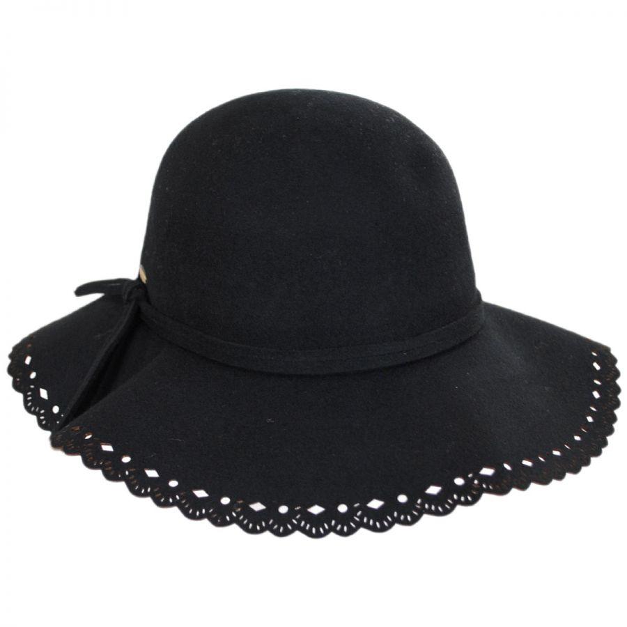 Floppy Lacey Edge Wool Swinger Hat alternate view 1 c89174530