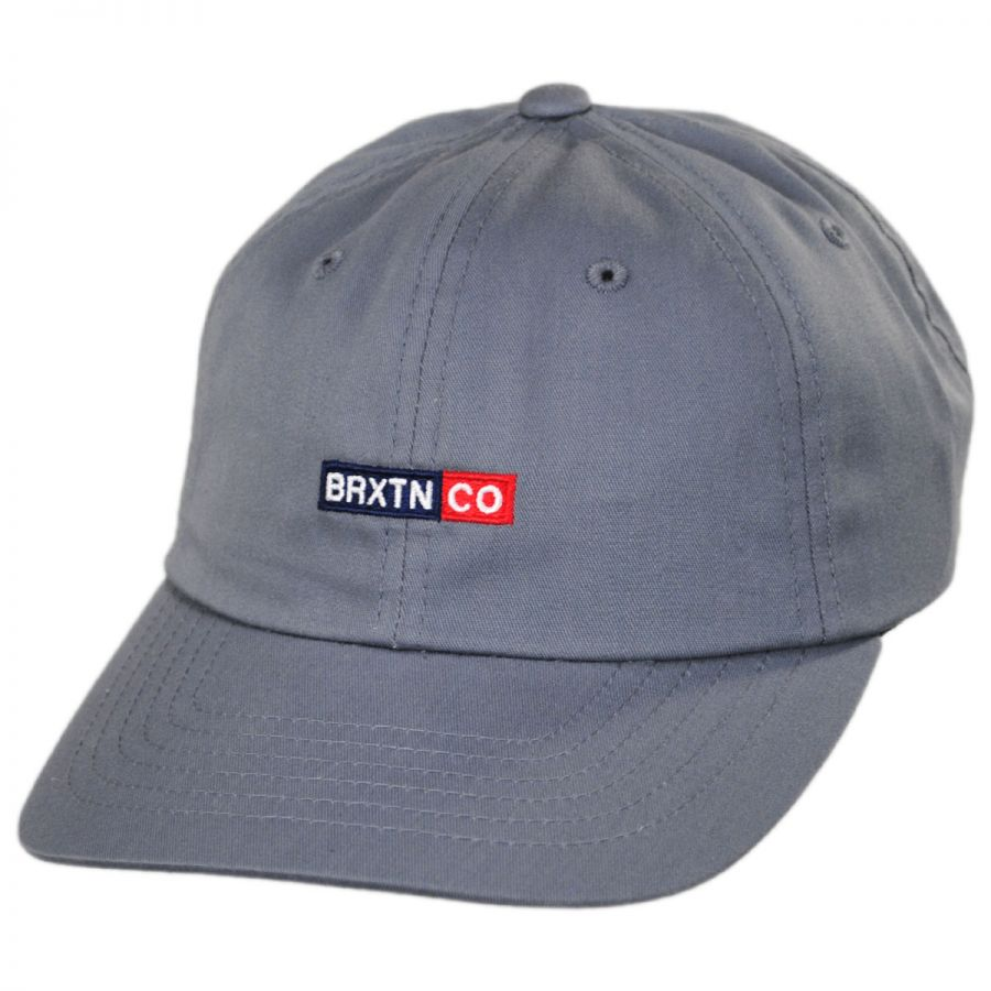 Brixton Hats Peg LoPro Strapback Baseball Cap Dad Hat All Baseball Caps b127baa56fc