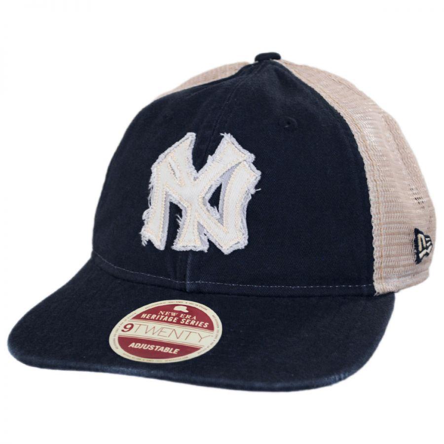 New York Yankees 1934 Strapback Trucker Baseball Cap alternate view 1 0169aee93fa