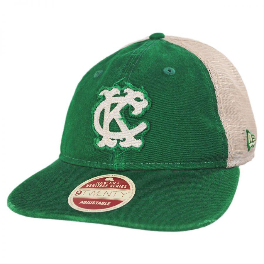 Kansas City Athletics 1965-1967 Strapback Trucker Baseball Cap alternate  view 1 bdd4cca3ef5