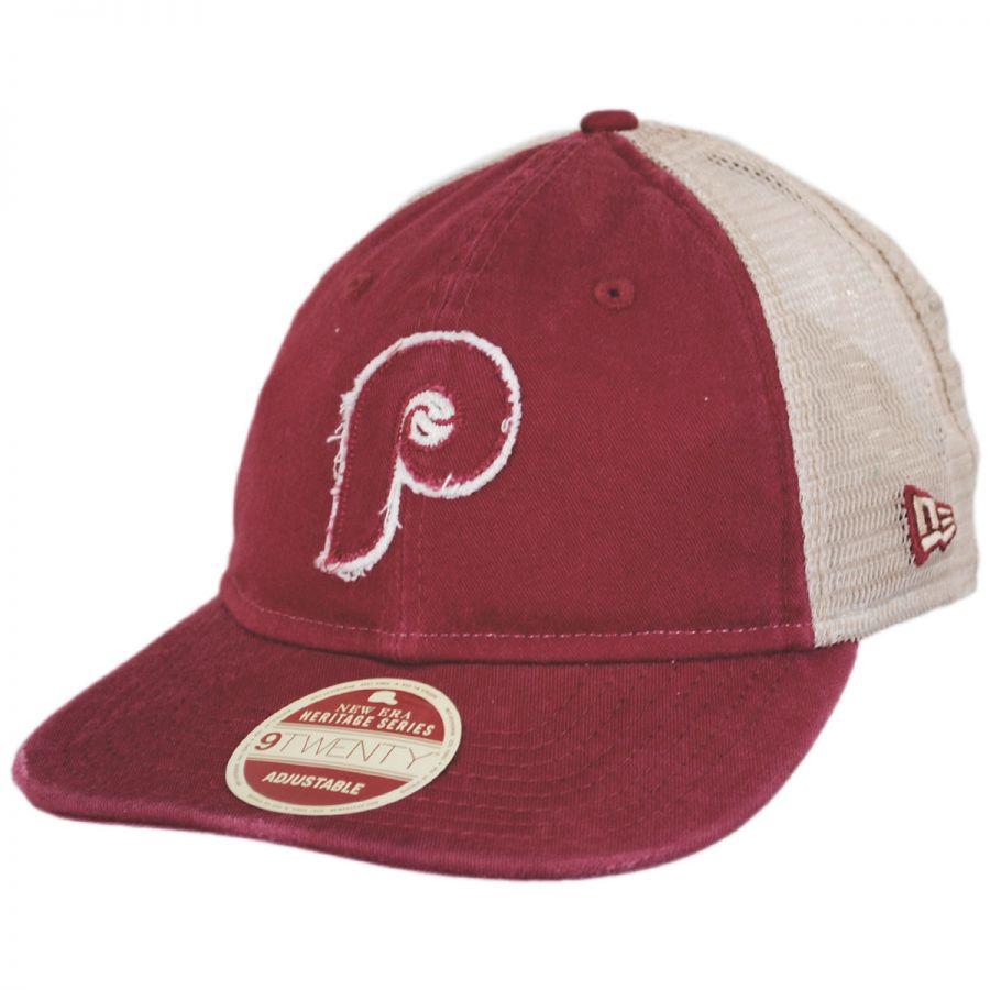 acb7892eb Philadelphia Phillies 1970 Strapback Trucker Baseball Cap