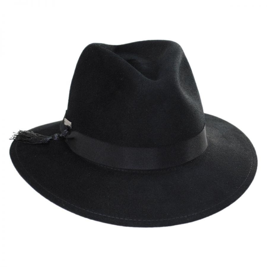 ... on feet shots of Betmar Ashland Wool Fedora Hat Casual Hats fdf2e ac199  ... f9b171c920a