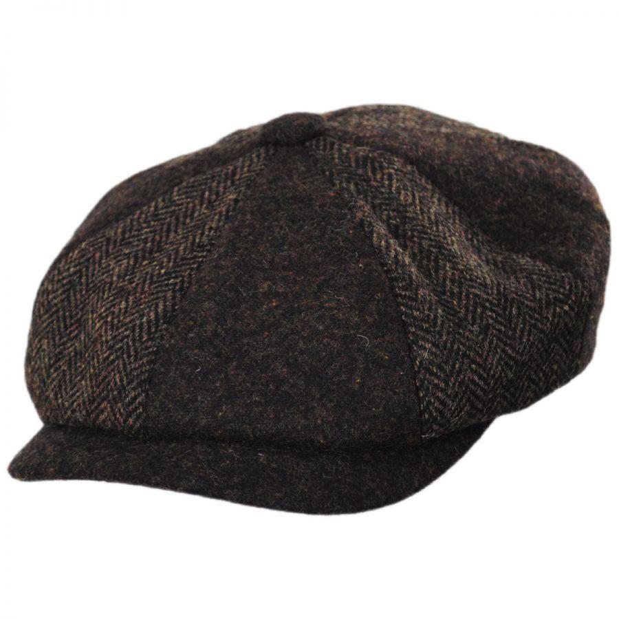 Stetson Patchwork Wool Blend Newsboy Cap Newsboy Caps
