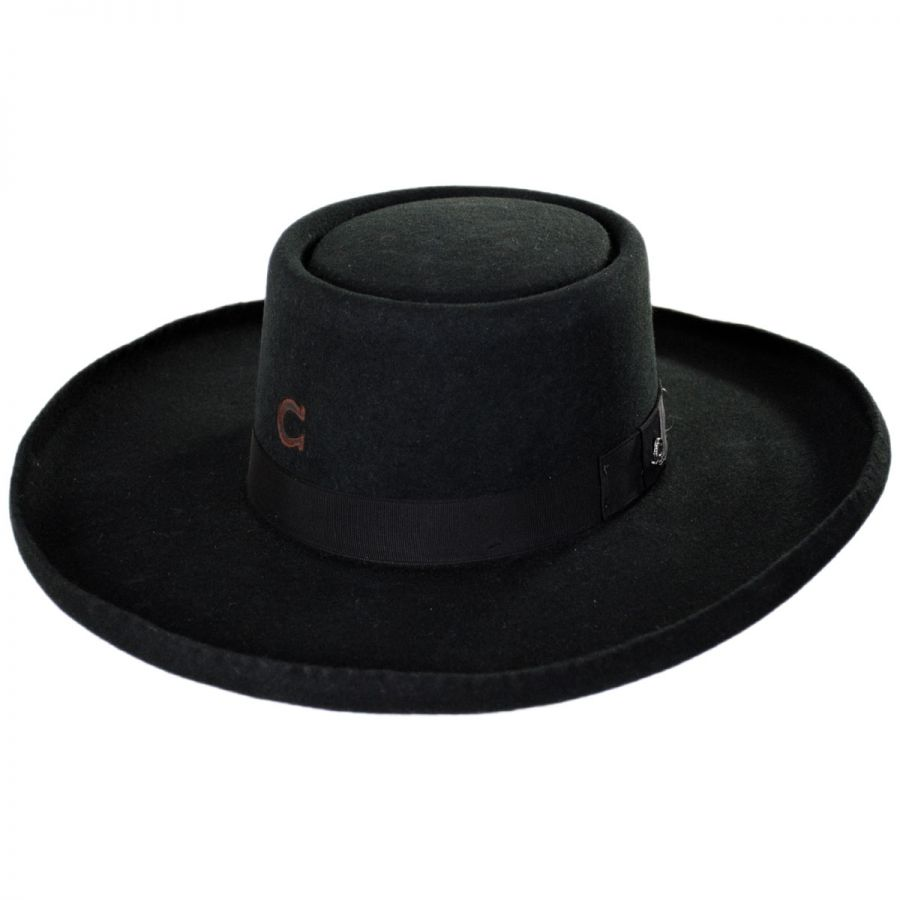Charlie 1 Horse Tattoos and Scars Wool Gambler Hat Western Hats 6eede723d1b