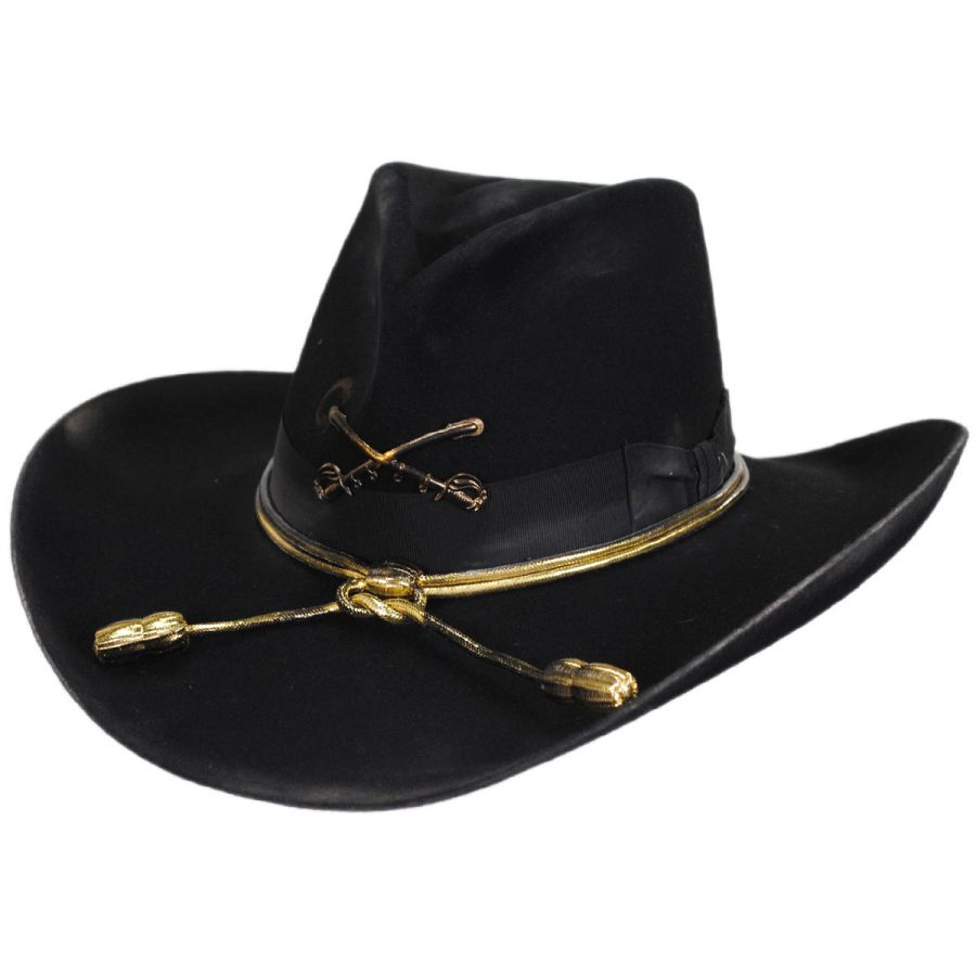 ee2f3afe6 Cavalry Insignia Wool Western Hat