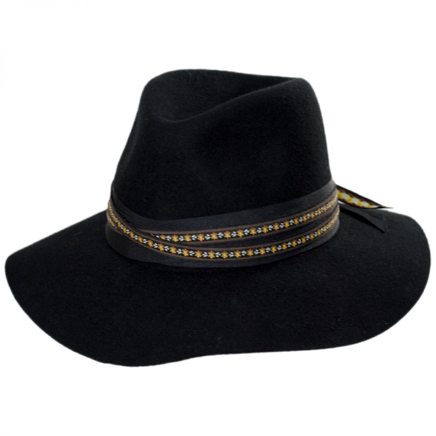 ... Carolena Wide Brim Wool Fedora Hat alternate view 1 online store 573b0  9ca47 ... 7e7fb148088