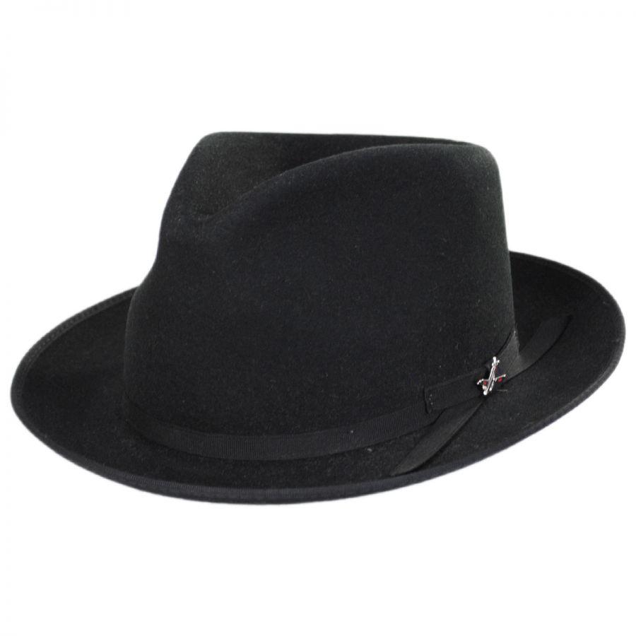 Stetson Stratoliner Youth Wool Fedora Hat Kids Fedoras 733b346ea3b