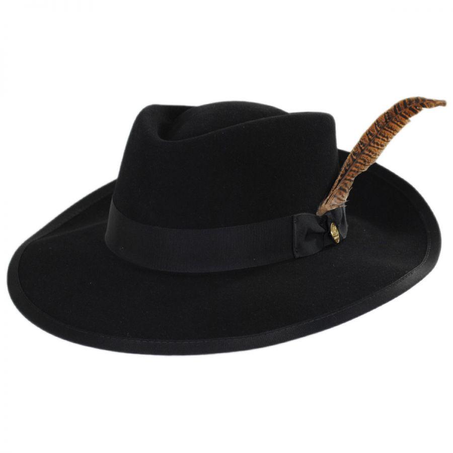 Stetson Rockway Wool Blend Crossover Hat Fedoras ff1de9f3fd3