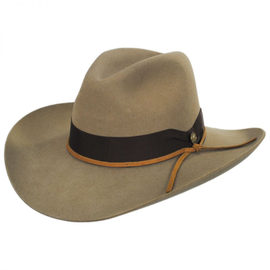 Stetson Double Down Wool Felt Western Hat Western Hats 8bee1db8f7df
