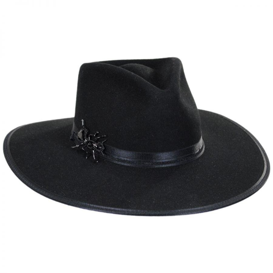 Queenie Wool Felt Fedora Hat alternate view 1 7217da74f296
