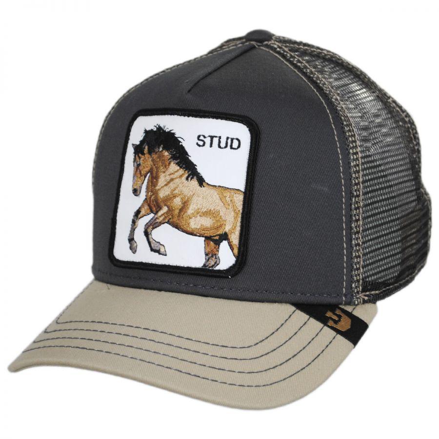6db78669 Stud Trucker Snapback Baseball Cap