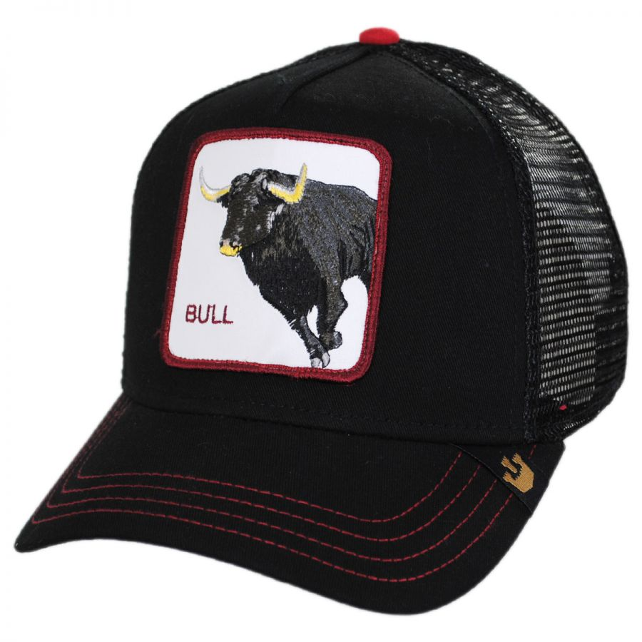 79e5769fc752b0 Goorin Bros Bull Trucker Snapback Baseball Cap Snapback Hats