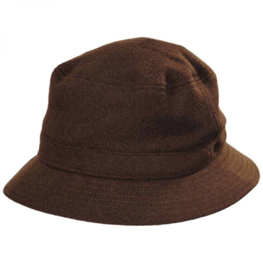 Brixton Hats Burroughs Wool Blend Bucket Hat Bucket Hats bed0481f624
