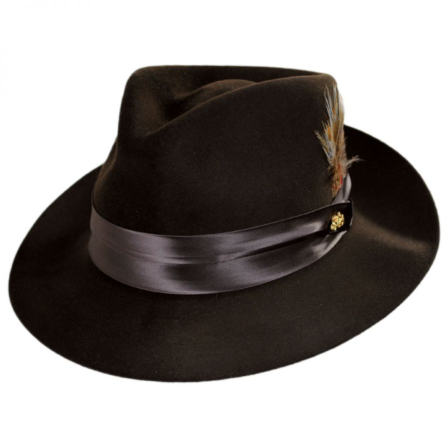 Temptation Fur Felt Fedora Hat alternate view 1 e7269eb2d179