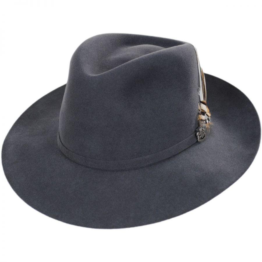 730467bd Biltmore Traveler Wool Felt Fedora Hat All Fedoras