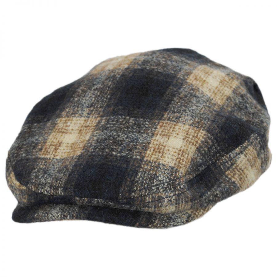 Stetson Plaid Wool Blend Ivy Cap Ivy Caps c5b32869ee55
