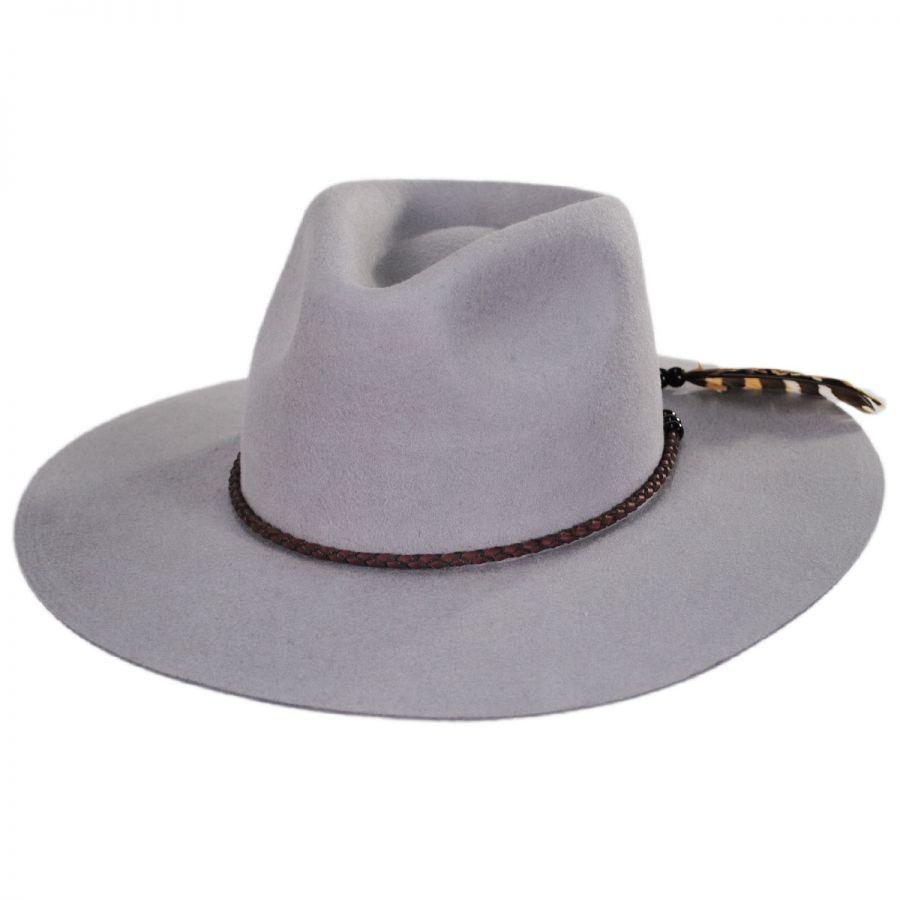 Brooklyn Hat Co Phillipe Big Brim Wool Fedora Hat Fedoras 67835e9e7b5