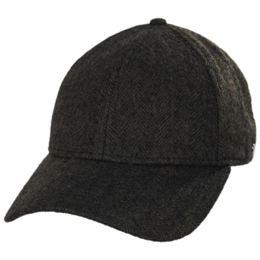 EK Collection by New Era Herringbone 9Forty Strapback Baseball Cap ... 933bd7ae6ad8