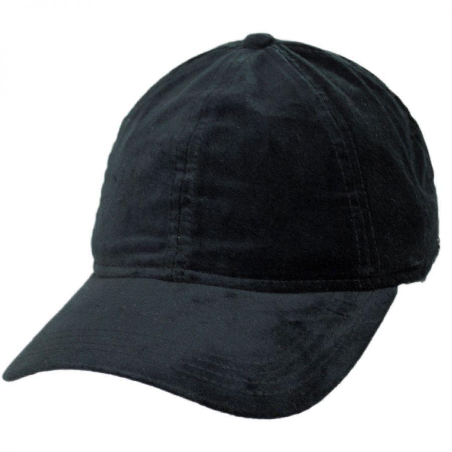 EK Collection by New Era Velvet 9Twenty Strapback Baseball Cap Blank ... e9f27af0a65