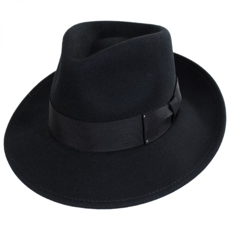Bailey Packable Litefelt Wool Fedora Hat All Fedoras acb5b4113f9