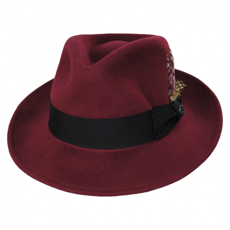 Jaxon Hats Pachuco Crushable Wool Felt Fedora Hat All Fedoras a430b9ba0f6