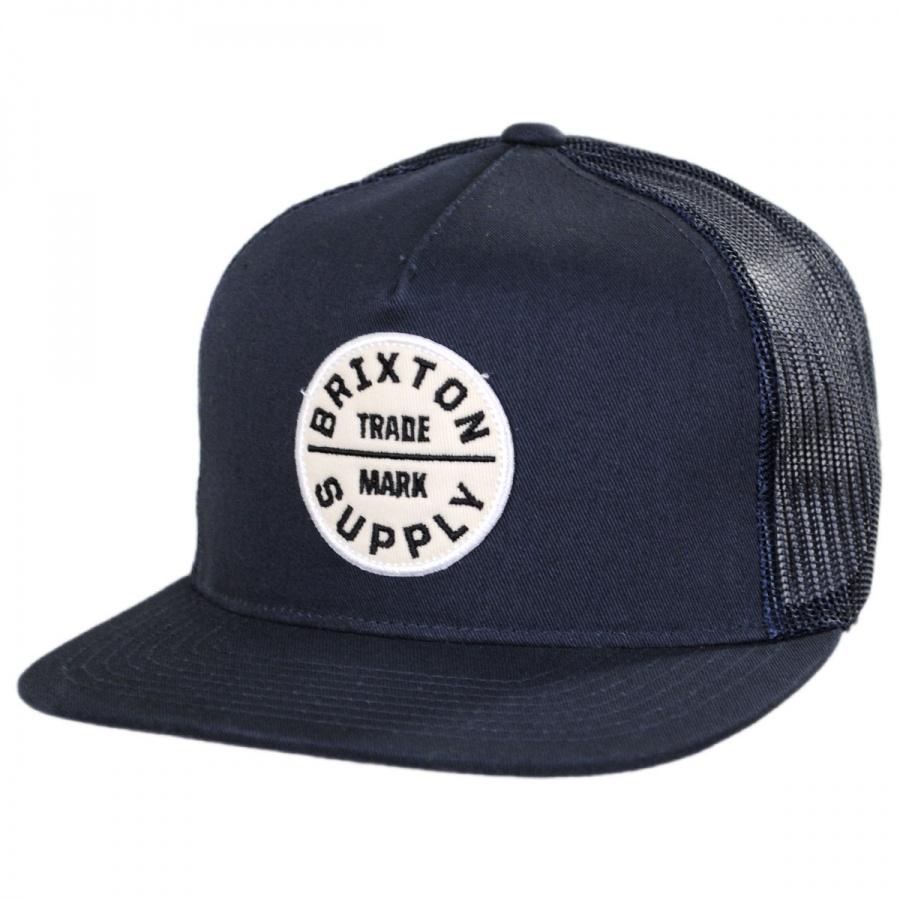 70313d6a636 Brixton Hats Oath III Mesh Trucker Snapback Baseball Cap Snapback Hats