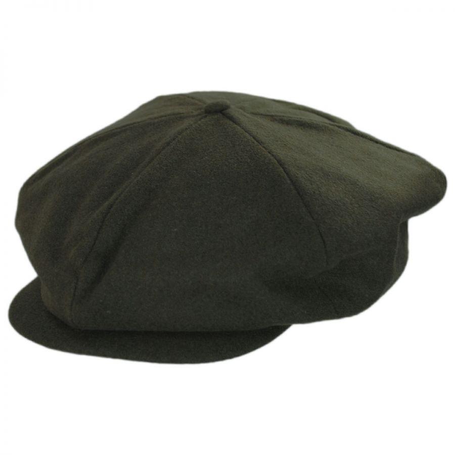 1fb411a838d Brixton Hats Ollie Wool Blend Newsboy Cap Newsboy Caps