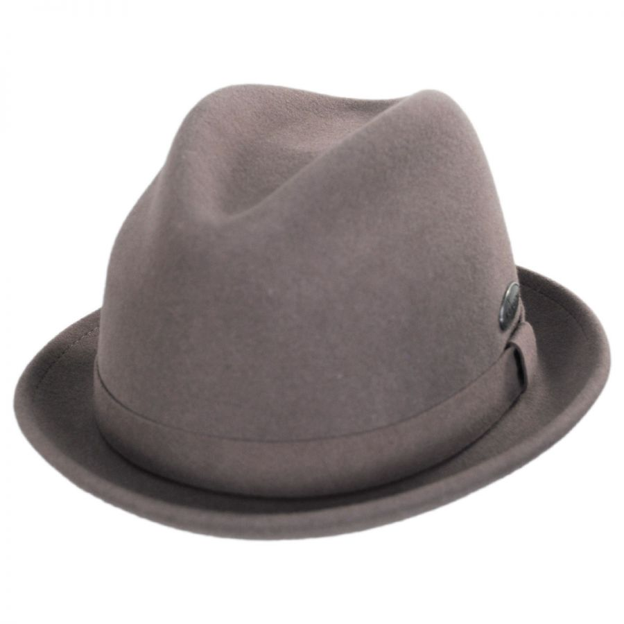 Kangol Litefelt Player Wool Fedora Hat Crushable 8f390dd51397
