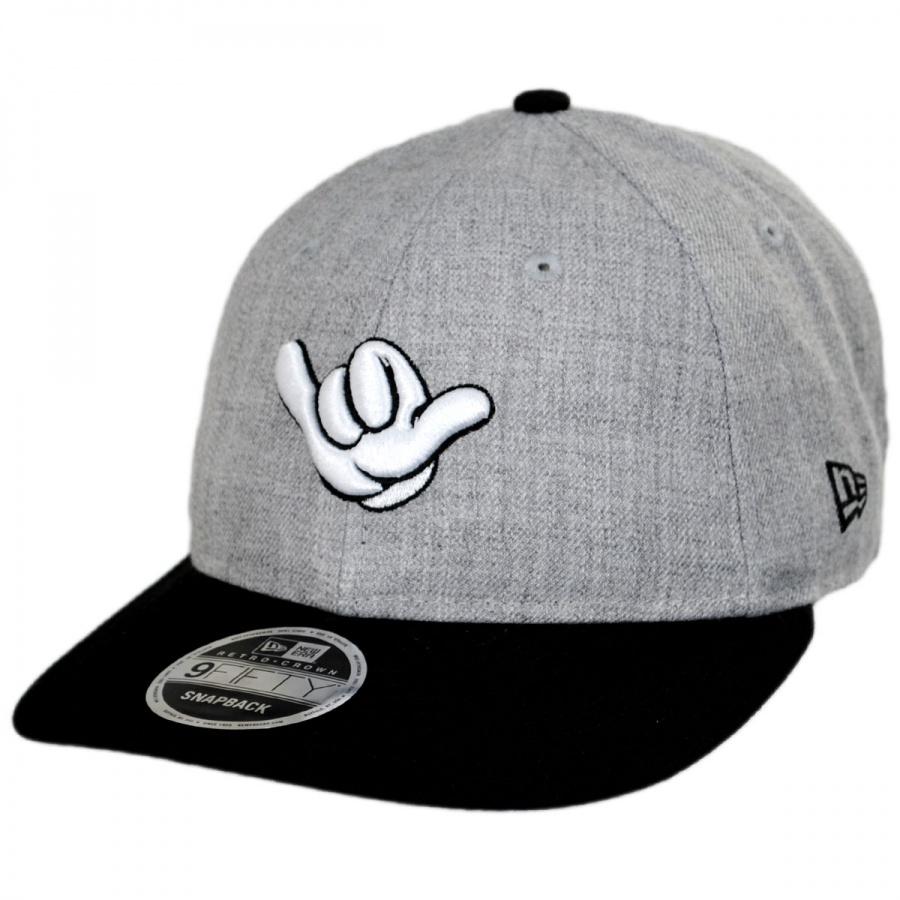 ac7d9a41641 New Era Hang Loose Mickey Mouse Snapback Baseball Cap Animation