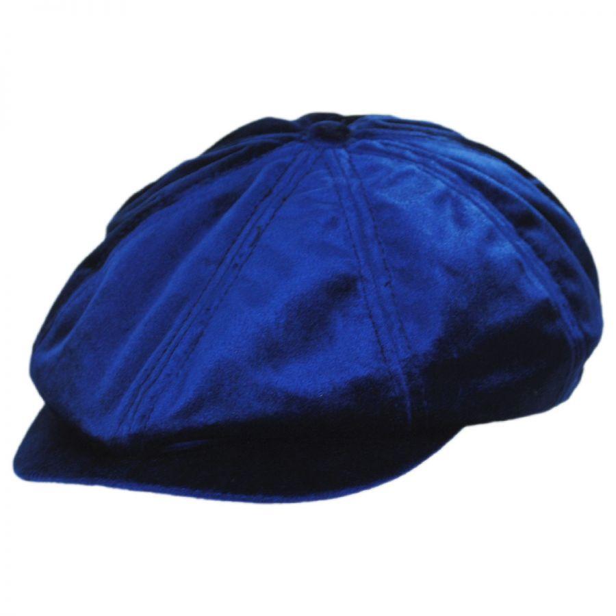 a61556fc Brixton Hats Brood Velour Newsboy Cap Newsboy Caps