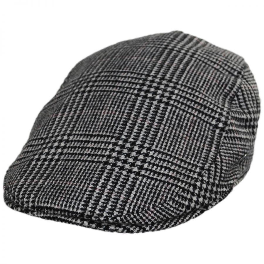 City Sport Caps Cashmere and Wool Glencheck Ivy Cap Ivy Caps ad923f3bdb6