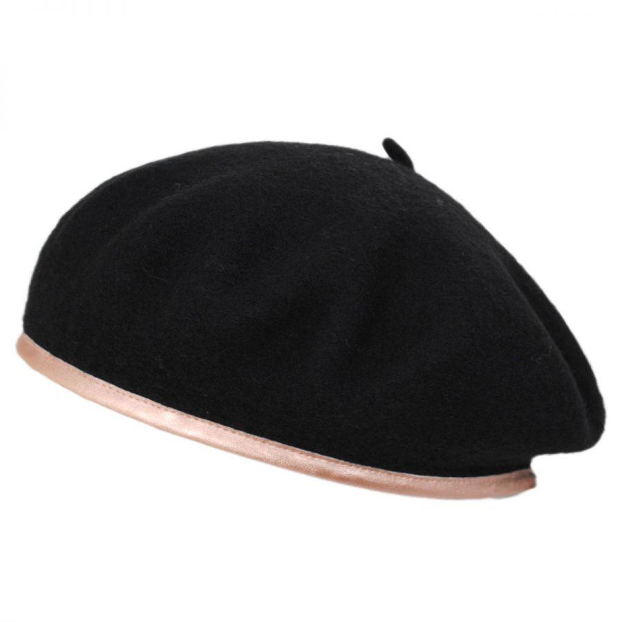 Brixton Hats Lennon Wool Beret Berets 00312c59c93