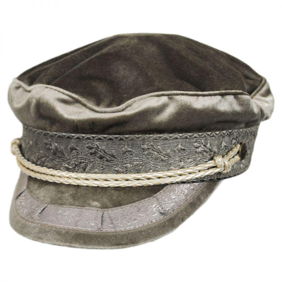 55ecc7a410b78 Brixton Hats Albany Velour Fisherman Cap Greek Fisherman Caps