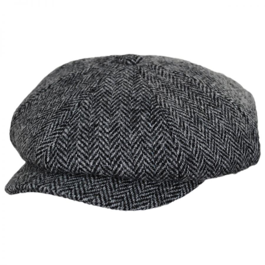 41c45090752e1 Jaxon & James Harris Tweed Castlebay Wool Newsboy Cap Newsboy Caps
