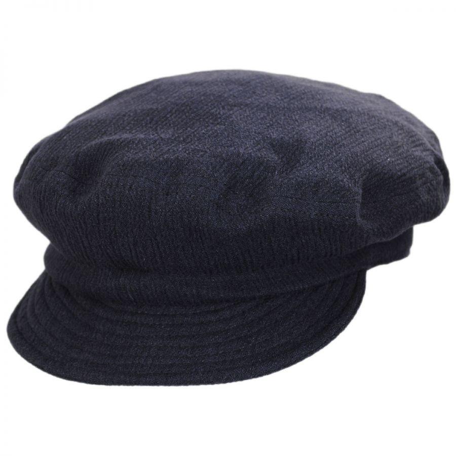 Brixton Hats Relaxed Linen Blend Packable Fiddler Cap Casual Hats 72a7301b31d4