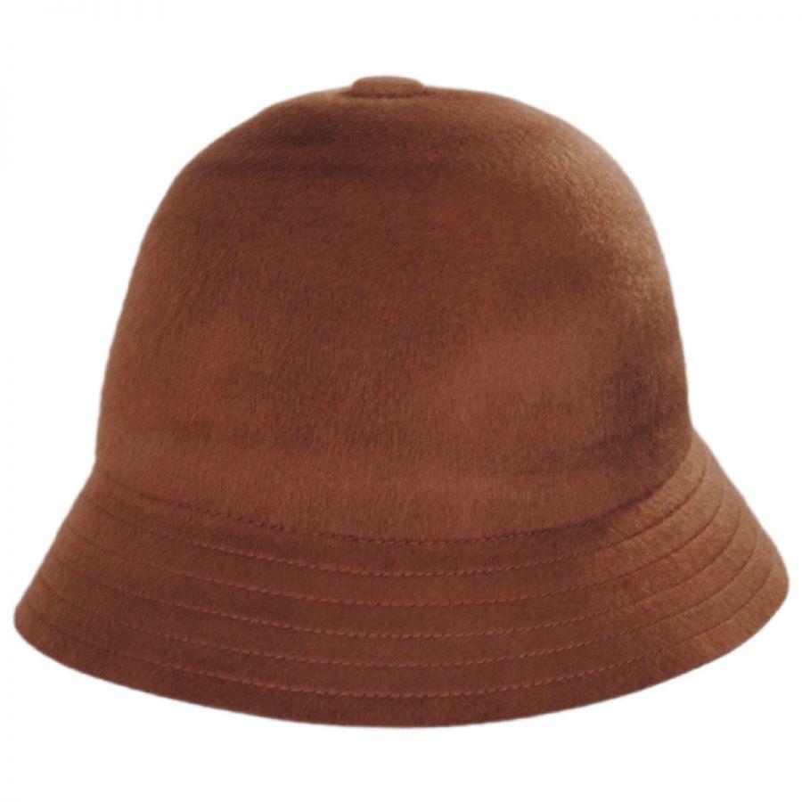 5267660fa09 Brixton Hats Essex Brushed Wool Felt Bucket Hat Casual Hats