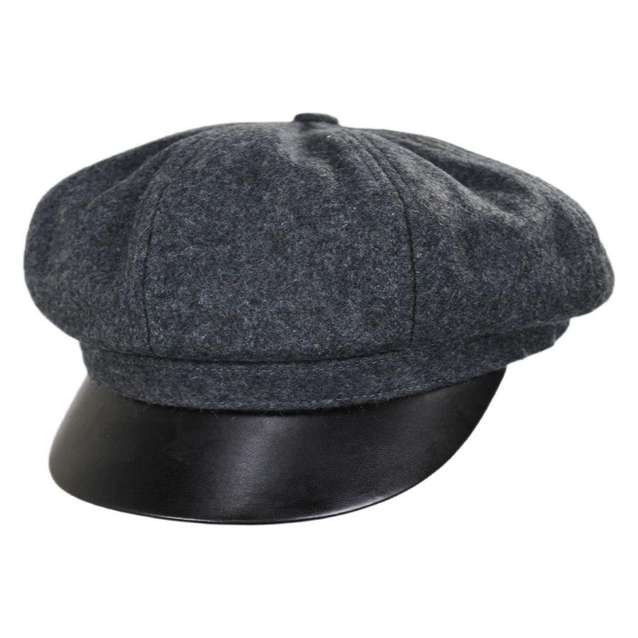 205d0ac1ff0 Brixton Hats Montreal Wool Blend Baker Boy Cap Newsboy Caps