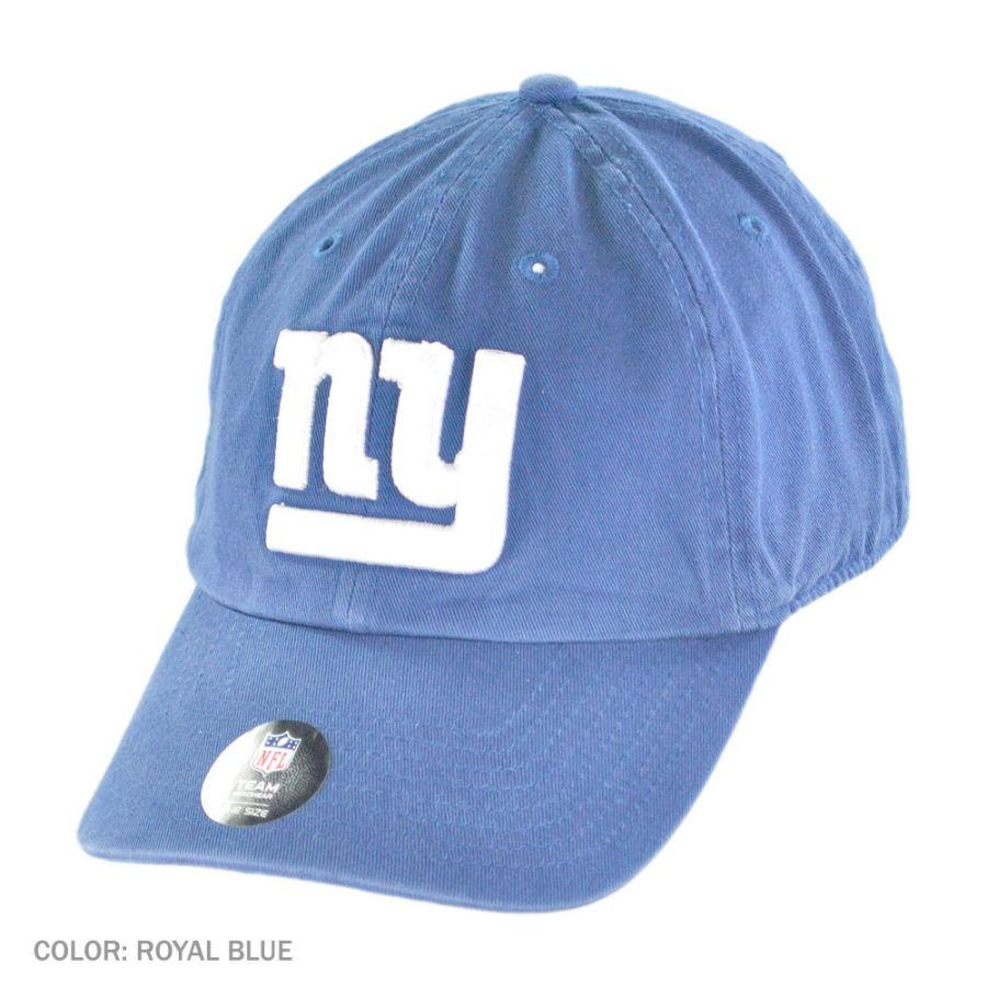 47 brand new york giants nfl clean up baseball cap nfl