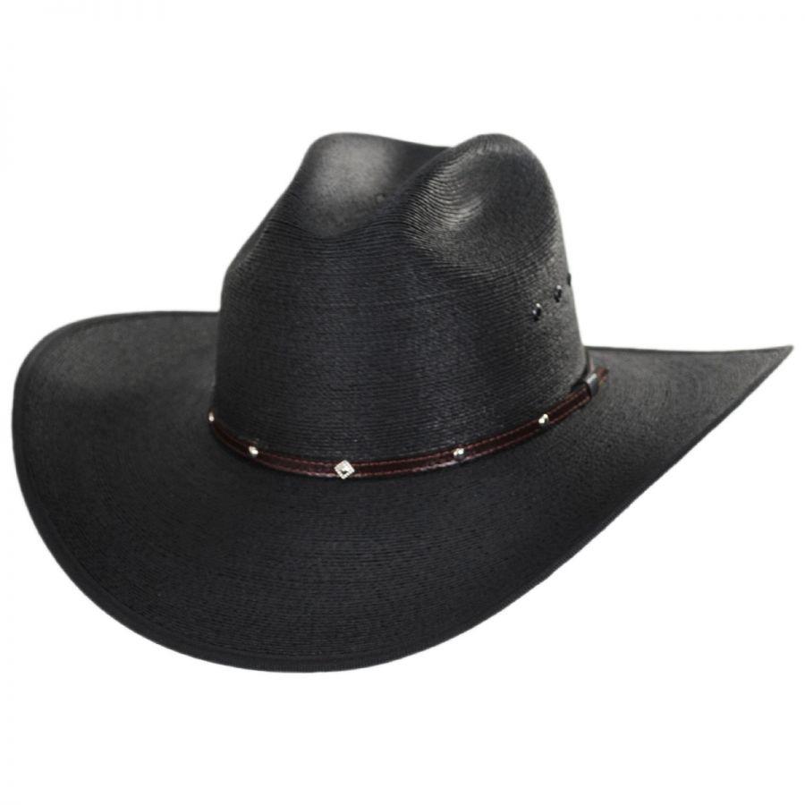 fe2b0b8ea37 Stetson Blaze Cattleman Palm Straw Western Hat Straw Hats