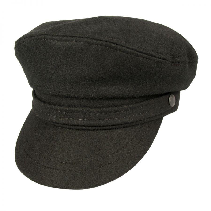 Fishermans Hat: Aegean Wool Fiddler's Cap Greek Fisherman Caps